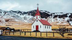 Iceland church by Ben Chen