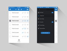 To Do UI by Kenil Bhavsar #flat #ux #clean #ui #simple #app #mobile #minimalist