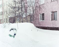 Yanina Shevchenko #photography #landscape #russia #cold #car #snow #urban