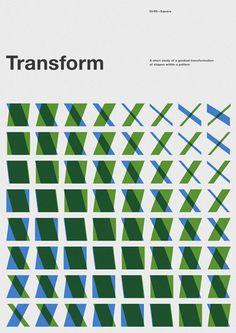 Marius Roosendaal #swiss #geometry #marius roosendaal #transform