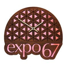 expo 67, clock, interior design