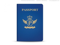 Universal blue passport, psd template Free Psd. See more inspiration related to Template, Blue, Web, Graphics, Psd, Website template, Passport, Blank, Horizontal and Universal on Freepik.
