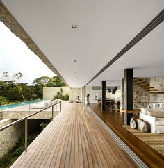 AL House   Breathtaking View and Sandstone Walls interior design project comfort casualness