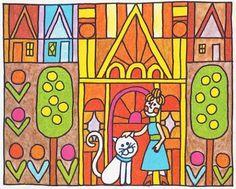 Vintage Kids' Books My Kid Loves: teeny-tiny tale #illustration