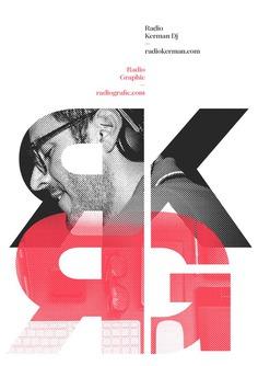 Radio Kerman DJ poster design