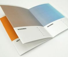 mstetson design: GLORIOUS #calendar #design #color #gradient #cool