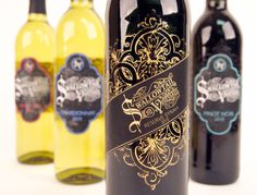 Swallowtail Vineyards on Behance