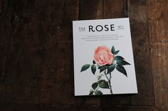 THE ROSE No.1 on the Behance Network #typography #magazine #masthead