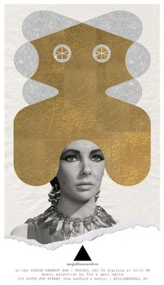 Posters<strong>*NEW*</strong> : MOGOLLON #mogollon #self #poster #promotion #collage #foil