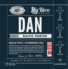 Lakefront Brewery's My Turn Series #packaging #beer #label #bottle