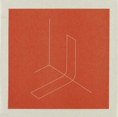 FRED SANDBACK Untitled (Jahn #73), 1979 lithograph