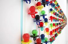 I want your lungs to stop working without me , Artist Julia Chiang uses Ring Pops for an art...