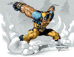 Wolverine Fanart by raultrevino #men #wolverine