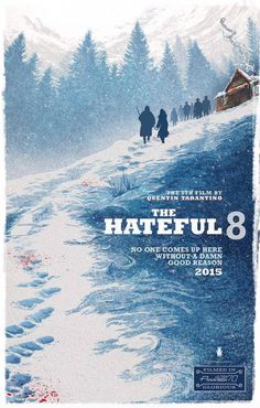 The Hateful Eight #movie #poster