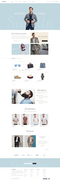 Fashionist is a modern and minimal ecommerce shop template for every type of website. It is including 25+ different page layouts to build yo