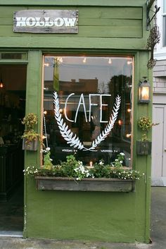 Hollow Cafe - Author Unknown #coffee #typography #cafe