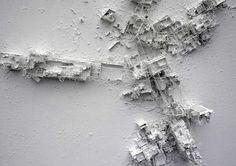 Paintings by Gerry Judah #model #white #judah #gerry #painting