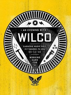 Google Reader (484) #wilco #poster