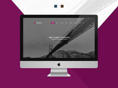 Raven : Free Multipurpose PSD Template