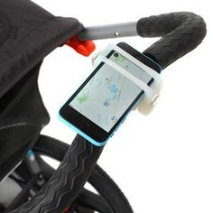 This easy to use smartphone bar mount allows you to easily mount your smartphone to your bike, shopping cart handle bar and can be used as a