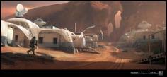 Call of Duty Infinite Warfare - Desert Base Exterior