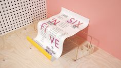 sixandfive-7 #pink #copper #yellow #identity #blue #plywood