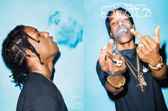 "A$AP Rocky Covers 'SNEEZE' No. 25 – The ""Excuse Me"" Issue Shot by Kenneth Cappello, Harlem's finest graces the cover of SNEEZE's 25th"