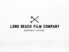 Dribbble - Long Beach Film Company - Shooting & Cutting by Jason Jones #logo