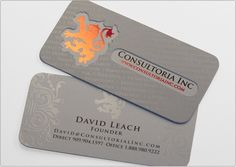 Consultoria | Business Card Design #vcard