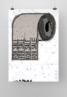 B&W posters vol. 2 on Behance #nikodem #pregowski
