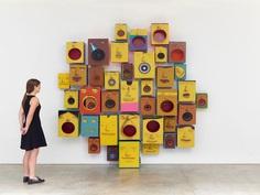 """Previews: Osgemeos – """"Déjà Vu"""" @ Lehmann Maupin (Hong Kong) « Arrested Motion #osgemeos #art #boxes"""