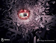 30 Creative Advertisements with Amazing Typographic Design | The Design Inspiration