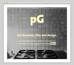Peter Gosens #website #layout #design #web