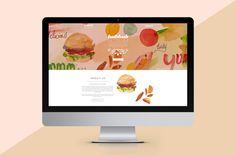 Hubbub Catering Website, Illustration, design, UI & UX by Emilia Buggins, Build by Under Water Pistol #food #illustration #watercolour #webd