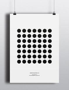 Shapes Evolution 1 Print