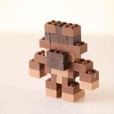 CHOCOLATE LEGO:ACGUY on Behance #chocolate #toys #lego