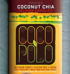 Chocolate brand Coco Polo by David Brier #branding #packaging #design #food #chocolate #brand #identity #logo #gourmet #typography