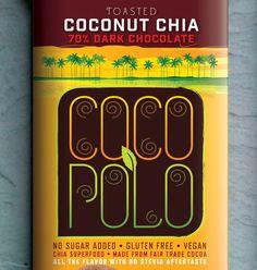 Chocolate brand Coco Polo by David Brier