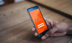 Money Masters App #iphone #mobile #app #identity #orange