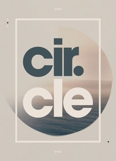 Circle #design #simple #sea #minimal #art #poster #circle