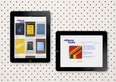 Best Awards Inhouse. / Rebecca Books #design #graphic #web #identity