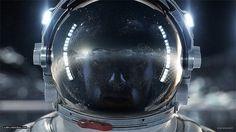 space man #3d