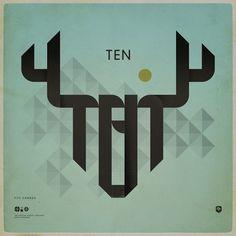 "Minimalistic poster design for FITC, Canada | Designchapelâ""¢ #logotype #poster"