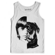 shoot_damien_tank_white_lrg.jpg (JPEG Image, 800x800 pixels) #t #design #graphic #shirt #illustration