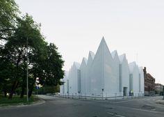 A concert hall in Poland by Spanish studio Barozzi Veiga #poland #architecture #inspiration