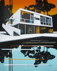 (8) Tumblr #design #color #architecture #painting #art