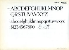 Daily Type Specimen   Egmont was designed for the Amsterdam type foundry... #typography
