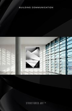 Art for Architecture #black white #art #illustration #gradation #scale #graphic #focused #storefront #design #eclipse