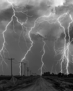 Terrific Storm and Landscape Photography by John Finney
