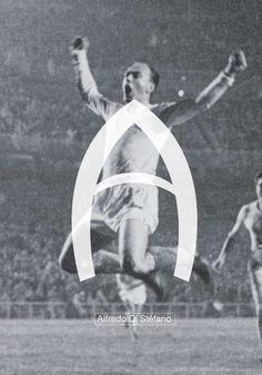Typography & Fútbol #A // Alfredo Di Stéfano on Behance